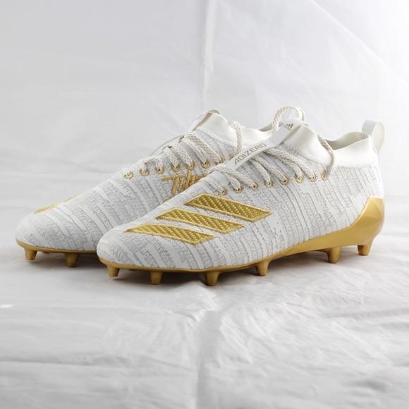 adizero 8.0 white and gold